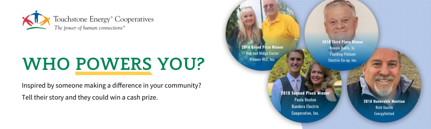 Nominate a local hero for their chance to win $5,000 in the Who Powers You contest!