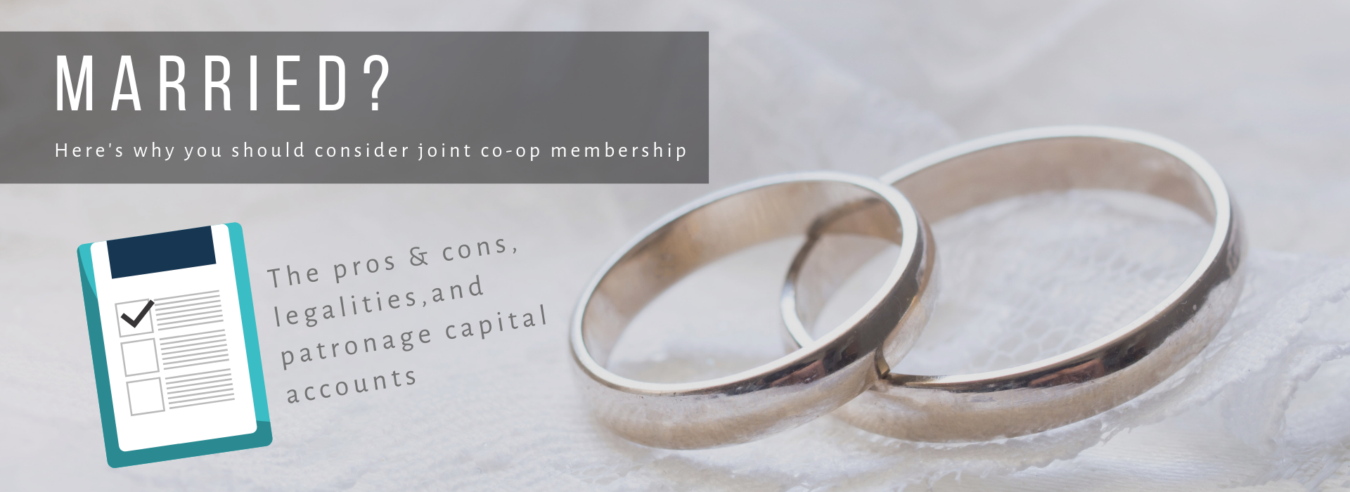 Why married couples should consider joint membership