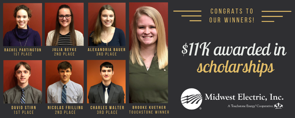 Scholarship winners 2019 Midwest Electric social post.png